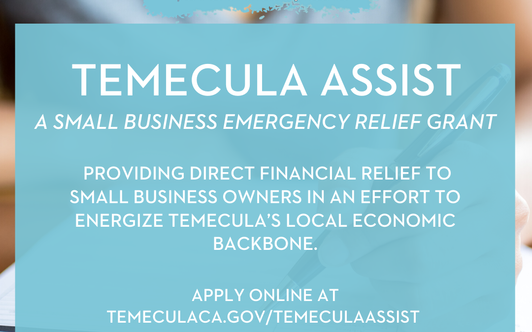 Temecula Assist – Small Business Grant Programs